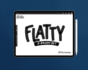 Procreate Brush: Flatty Marker