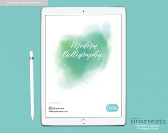 Modern Calligraphy workbook #2
