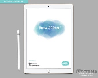 iPad Lettering WorkBooks