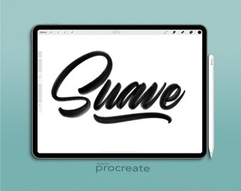 Procreate Brush : Suave Brush