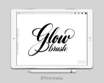 Procreate Brush: Glow brush