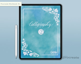 NEW Calligraphy Workbook #2 for Procreate
