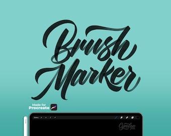 Brush Marker  Procreate Brush