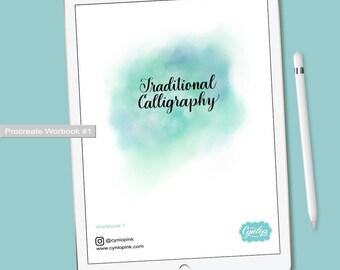 iPad Lettering WorkBooks