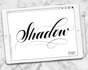 Custom Procreate Brush: Shadow Brush