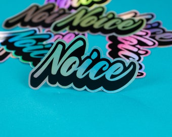 Noice Holographic sticker
