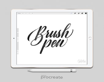 Procreate Brush: Brush Pen