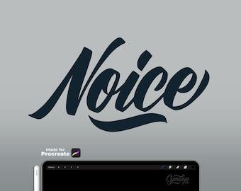 Noice Procreate Brush