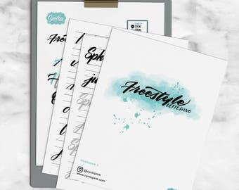 PDF Lettering Workbooks
