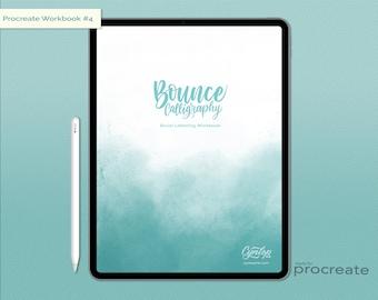 Bounce Lettering Workbook #4