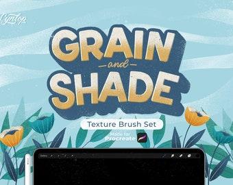 Grain & Shade Procreate Texture Brush Set
