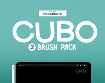 Cubo Procreate Brush set