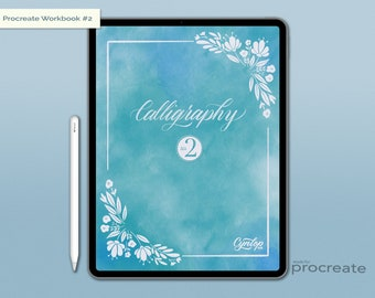 Calligraphy Workbook #2 for Procreate