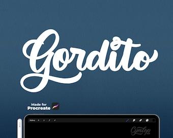 Procreate Brush: Gordito
