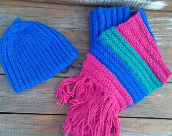Spring sale, Boho scarf, big scarf, blue scarf, chunky knit scarf, chrochet scarf, winter scarf, chunky knits, cozy scarf,oversized scarf