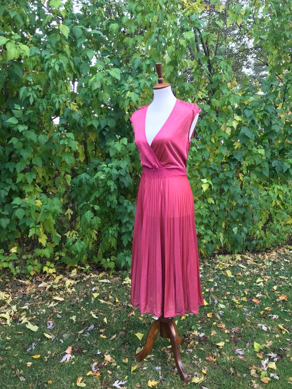 Coral Party Dress - image 1