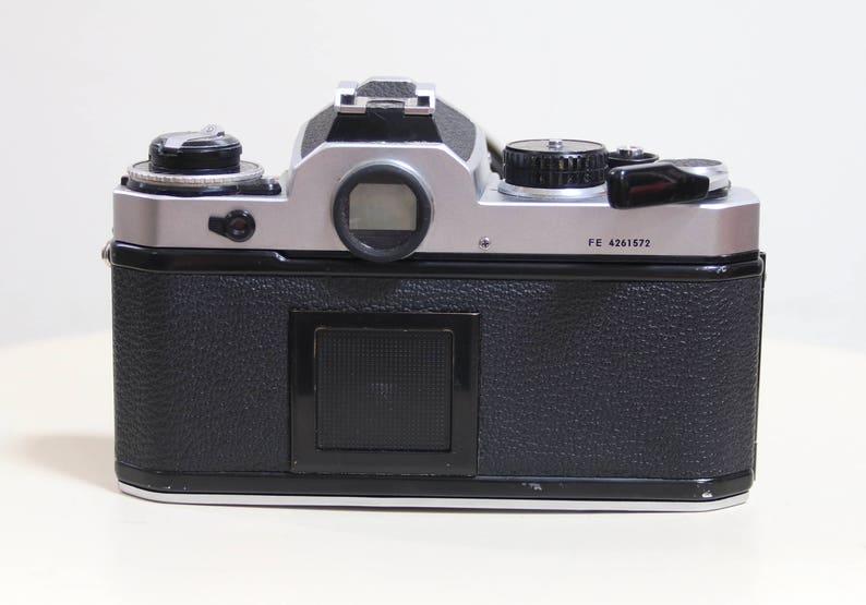 Vintage Nikon FE Camera TESTED 35 mm 28-85 mm Kiron Lens Strap ...