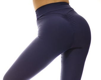 3491a34e2c Brazilian Butt Scrunch Booty Leggings High Waisted Emana Scrunch Butt  Leggings Yoga Gym Workout Dance Clubbing Socializing Zumbera