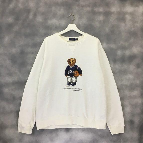 Vintage Polo Bear Sweatshirt Polo Ralph Lauren Pol
