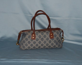 fd9772f51265 Authentic vintage Celine bag - denim and genuine leather