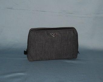 34ac9090c605 Authentic vintage Prada handbag - denim and genuine leather