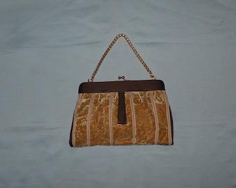 405c765ae Authentic vintage Gucci handbag - velvet and fabric