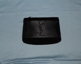 8597e31bb07d1 Authentic vintage Yves Saint Laurent parfums handbag - velvet and satin