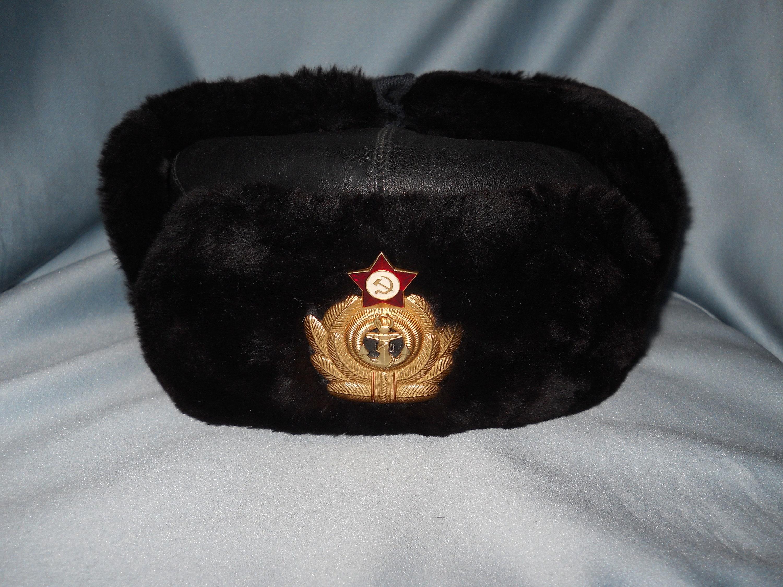 4d90287e765c9 Russia CCCP USSR Cold War Era Original Soviet Navy ushanka