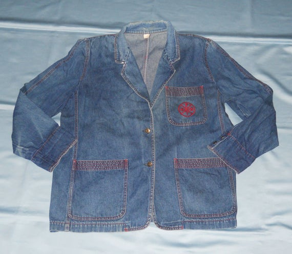 Authentic vintage Fendi jacket ! jeans !