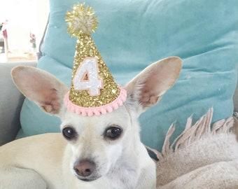 Dog Birthday Hat || Dog Party Hat || Dog Birthday Party Outfit || Animal Birthday Hat || Pet Birthday Hat || Dog Clothes || Puppy Party