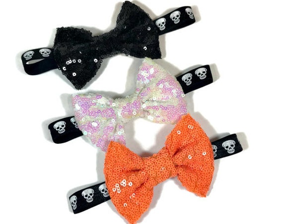 Halloween Bowtie For Dog  || Bowtie for Kitty || Autumn Fall  || Pet Bow Tie || Cat Costume