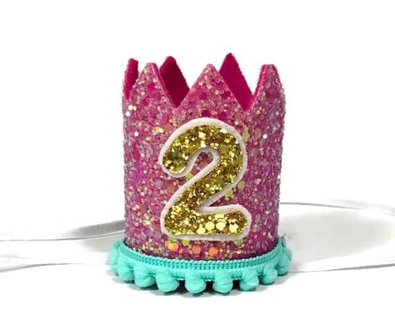 Birthday Crown || Dog Hat || First Birthday Crown || Animal Crown || Animal Party || Birthday Party Photo Prop