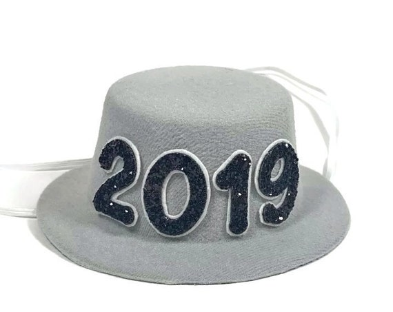 New Years Eve Hat || Dog Costume || 2019 || New Years || Party Hat || Top Hat