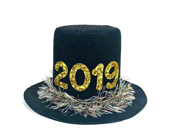 2019 Top Hat || New Years Top Hat || Dog NYE Hat || Top Hat Costume for Dog || New Years Eve