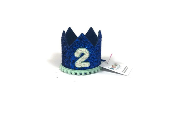 SALE Dog Birthday Crown Hat || Animal Party Hat || Cat Kitty Puppy Pig Birthday Crown Hat ||