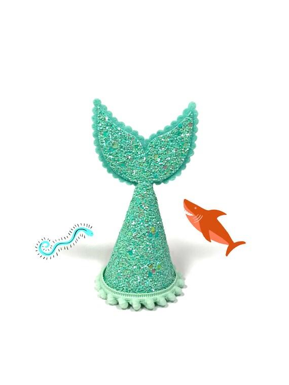 Dog Mermaid || Merdog || Dog Mermaid Hat || Dog Birthday Party Hat || Pet Party Decor || Animal Party Hat || Dog Gift
