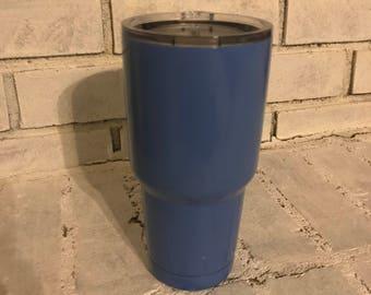 Carolina blue Yeti Tumbler - Custom Carolina blue Yeti, with monogram option