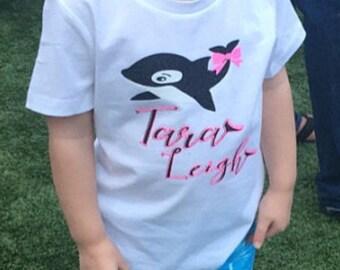 2d3b1e4dc654 Sea World Trip Whale Tail Vacation Custom Shirts Aquarium