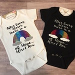 After Every Storm There Is A Rainbow Of Hope.. Here I Am Baby Personalized ~ Rainbow Baby