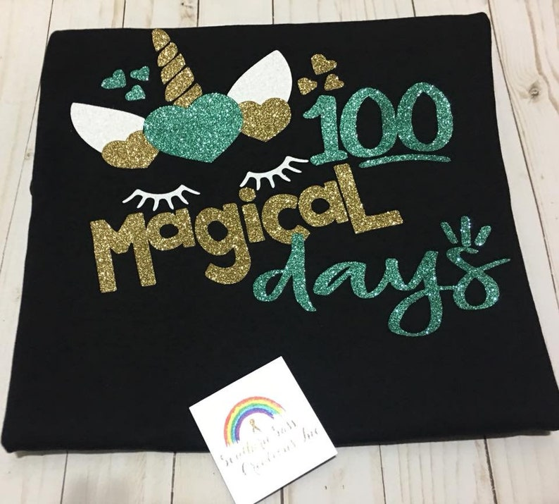 One Hundred 100 Magical Days of School Unicorn Jacksonville image 0