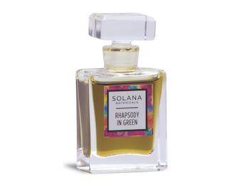 Rhapsody in Green Natural Perfume - 8 mL Pure Parfum