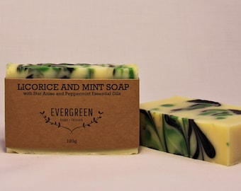 Licorice and Mint Soap