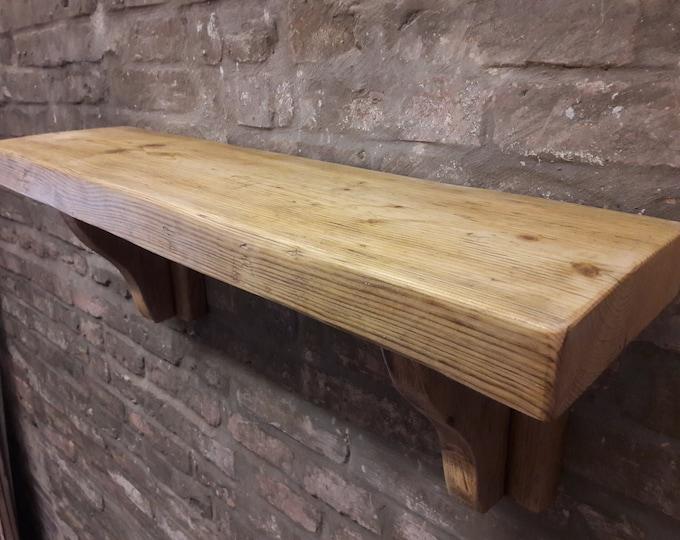 Chunky Shelves scaffold board industrial rustic storage