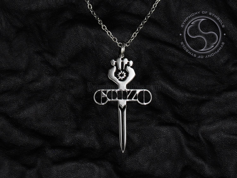 Gonzo Symbol Pendant Stainless Steel Jewelry Hunter S Etsy