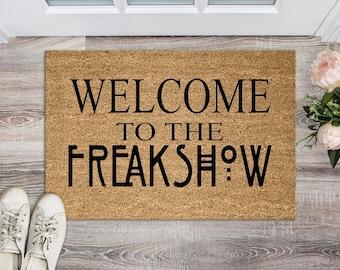 Welcome To The Freakshow Doormat