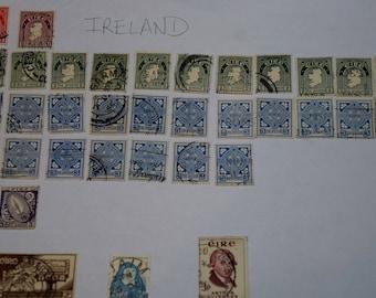 36 Postage Stamps Ireland