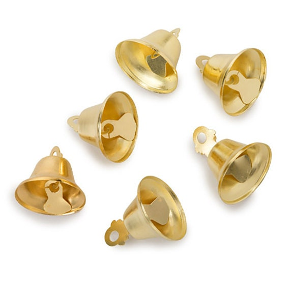 Darice Liberty Bells Gold 2 Inches