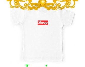 402943fb6308 Sheep (iDubbbz Merch) Supreme - favorite custom gift unisex shirt kids T- shirt kids tshirt kids clothing kids Youth kids t-shirts Clothes