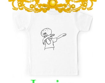 cb846cfdede Dab Squidward - favorite custom gift unisex shirt kids T-shirt kids tshirt  kids clothing kids Youth kids t-shirts Clothes