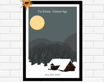 For Emma Poster - Band Poster - Music Wall Art